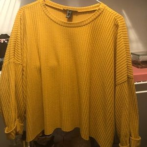☀️FOREVER 21 CROPPED SWEATER